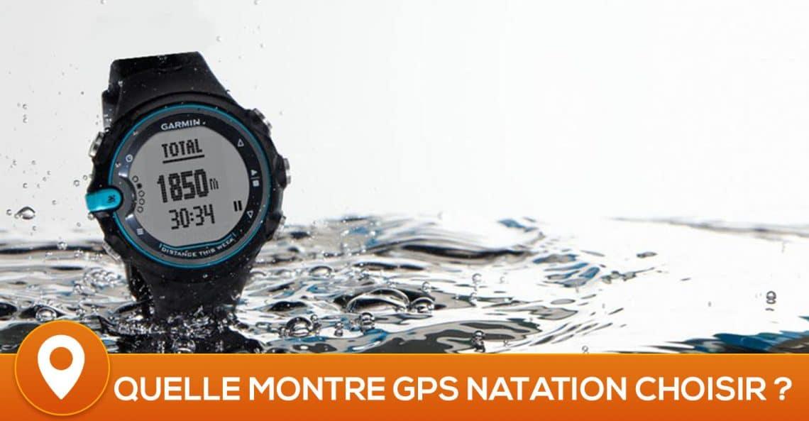 Comparatif des meilleures montres connectées natation