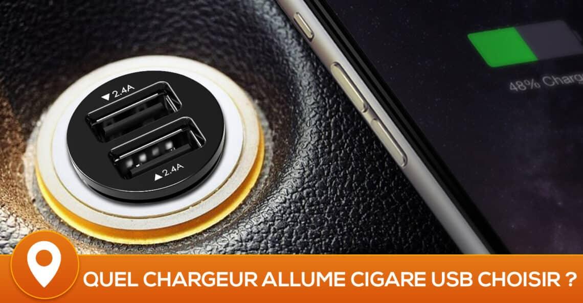 meilleur chargeur allume cigare usb 2018 top 10 et comparatif. Black Bedroom Furniture Sets. Home Design Ideas