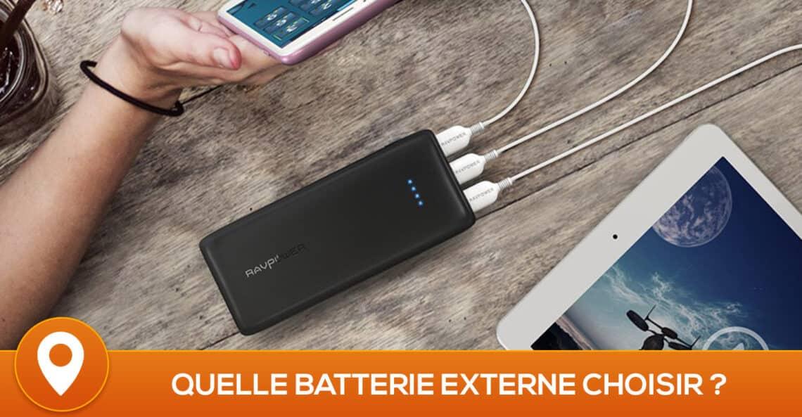 Meilleure batterie externe 2019 – Comparatif, Tests, Avis