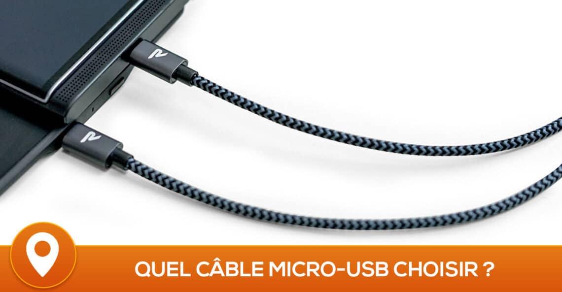 Meilleur câble micro-USB 2019 – Comparatif, Tests, Avis