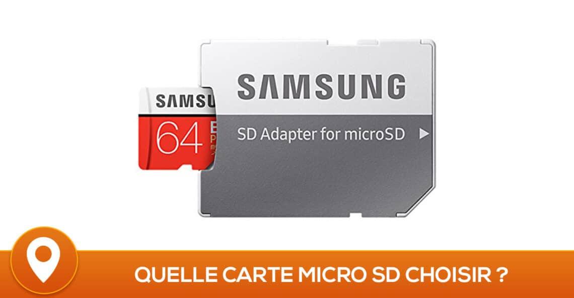 Comparatif des meilleures cartes Micro SD