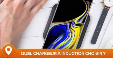 comparatif chargeur induction